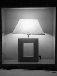 a lamp I