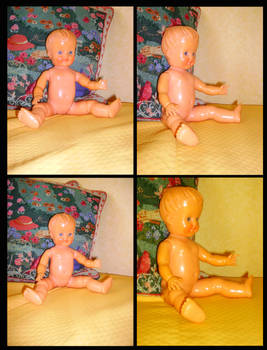 a doll in four shots