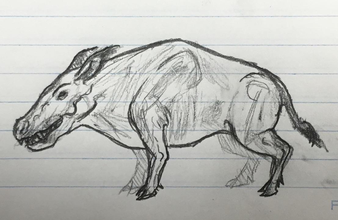 Hell pig by dinomaster15
