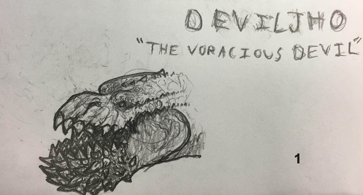 The voracious devil by dinomaster15