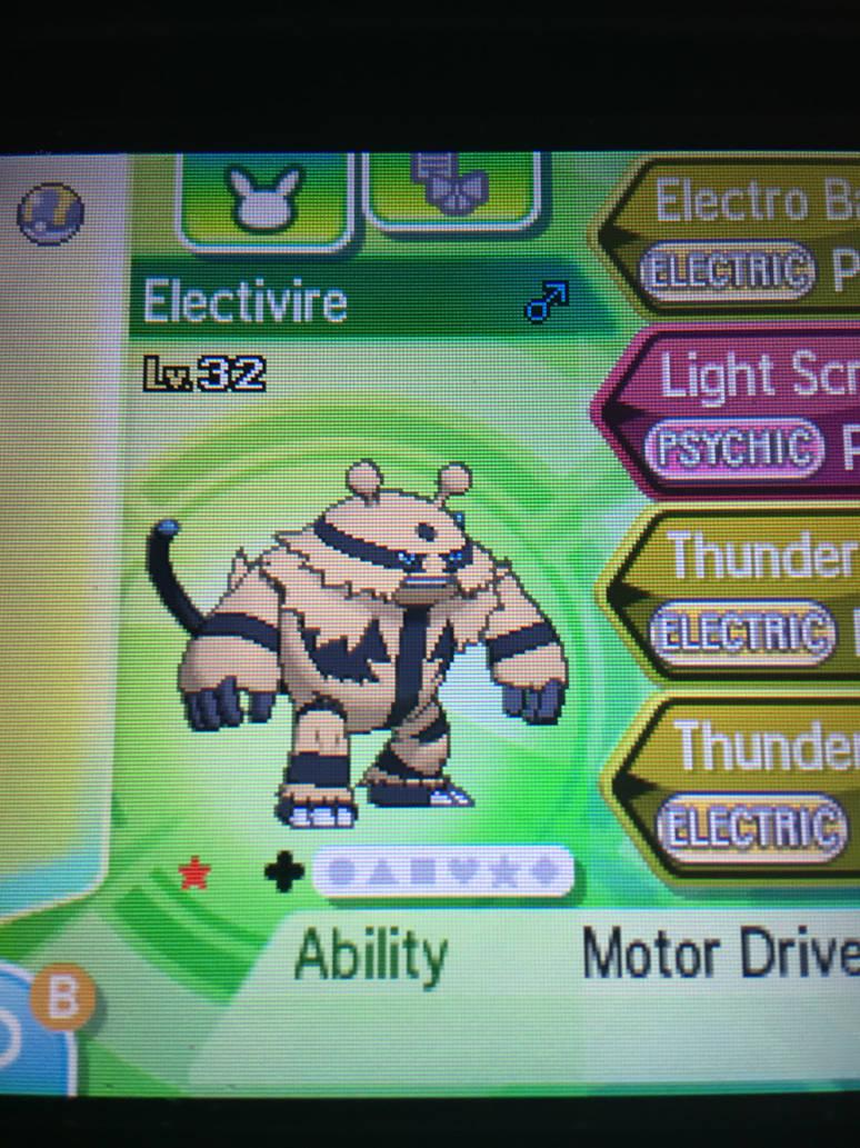 Pokemon Sword and Shield  Shiny Electivire  6iv  Battle Ready  Master ball   Shiny Pokemon