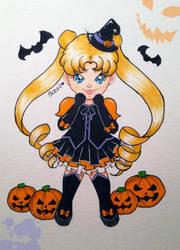 Sailor Moon | Halloween by EstixArt