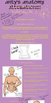 Anatomy Tutsies, pt.3 by PantsPhD