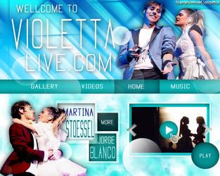 +EDICION WEB: ViolettaLive.com by SaraSmileColorful