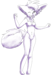 Free Furry Jackal pose by thehayleygirl1