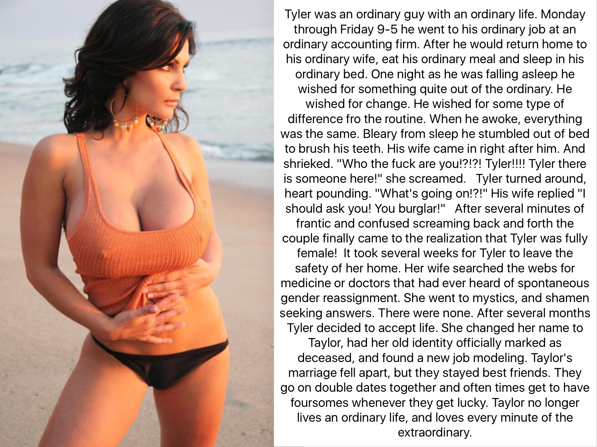 Would Tg captions bikini agree