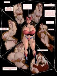 Scarlet Witch vs Professor X 3 by sampleguy