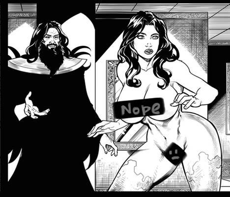 Sneak peak: Gods of Time p19 panel