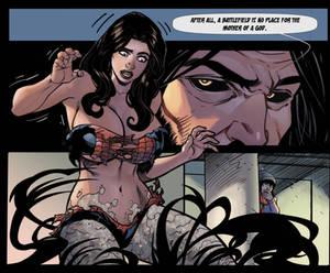 Sneak Peak: Gods of Time- Page 10 panel