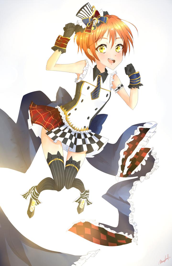 Rin! by Monochromaticx