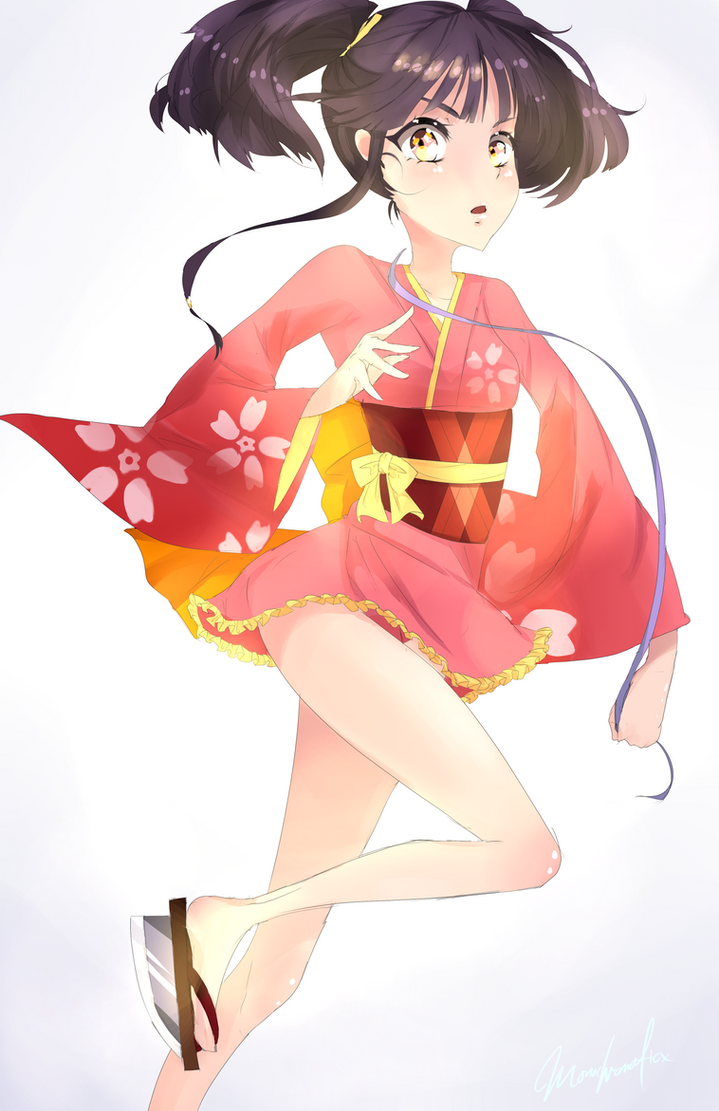 Mumei by Monochromaticx