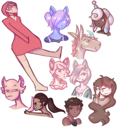 [Comm] Doodle Comm Compilation by Ameliasketches