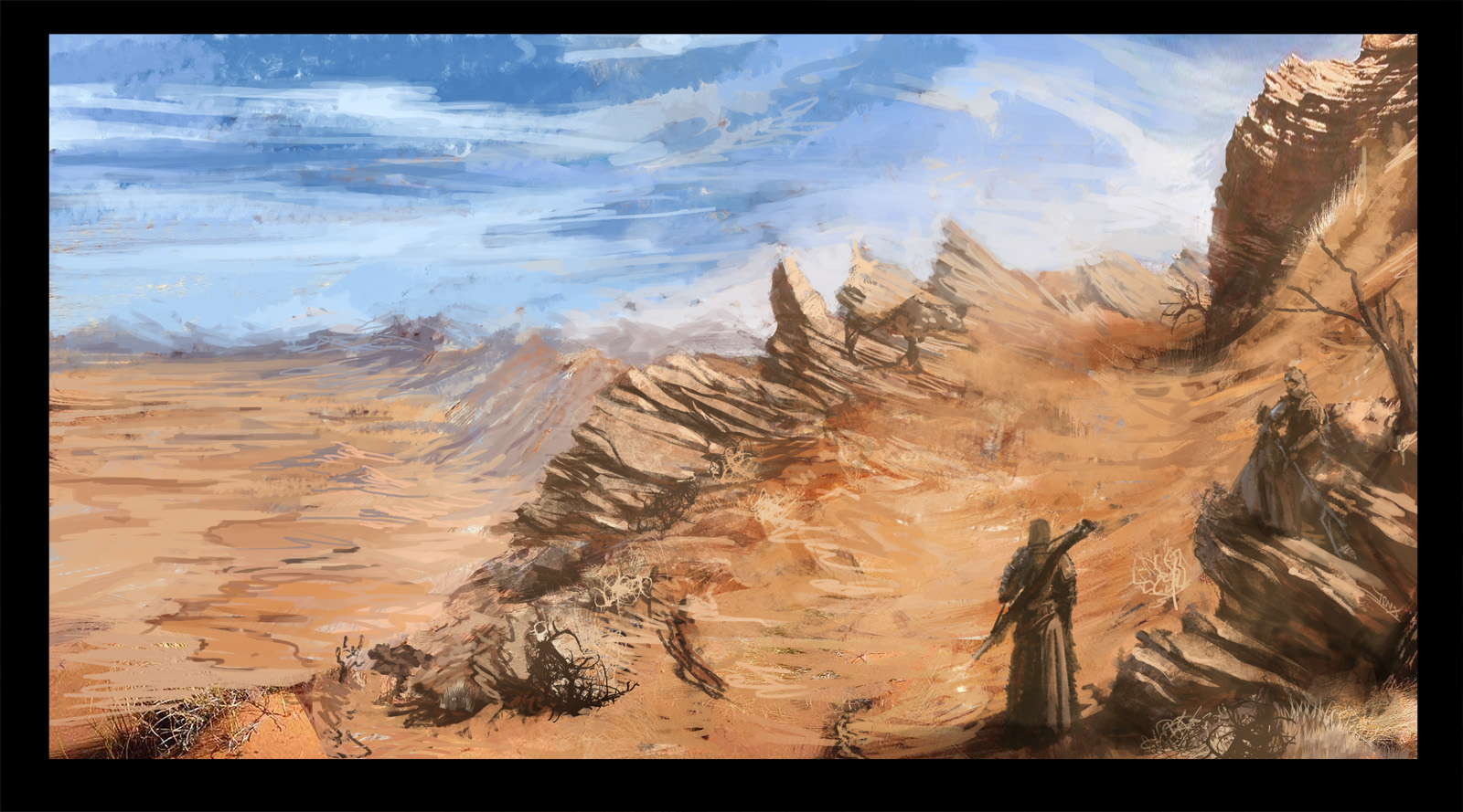 SDJ - Desert Inhabitants by Robjenx