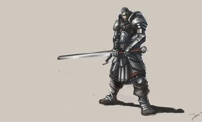 Swordsman by Robjenx