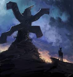 SDJ - Giant Windmill by Robjenx