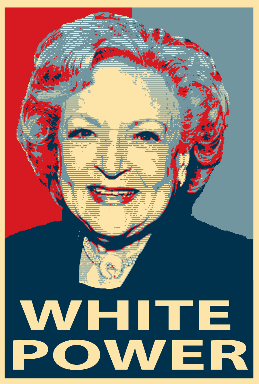 Betty White for President by picklejuice13