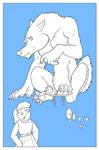 CAPTION CONTEST - Werewolf interrupted at tea time