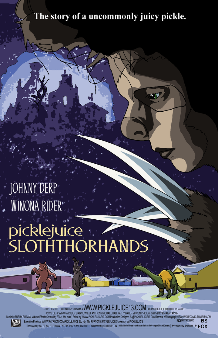 Picklejuice Slothhorhands by picklejuice13