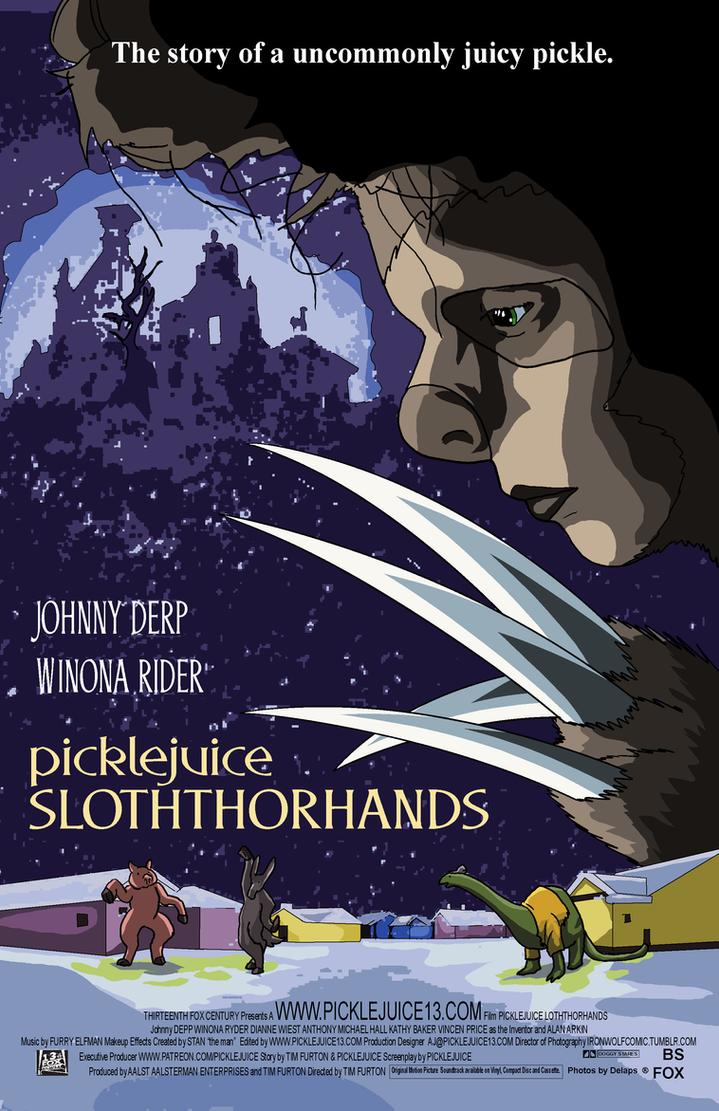 Picklejuice Slothhorhands by picklejuice13