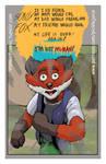 Sonix Fox Promo Card for MSP Springcon