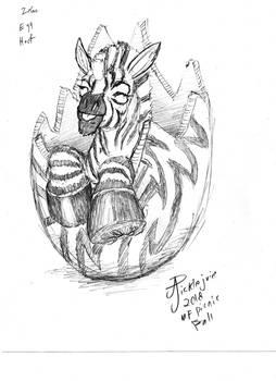 Zebra-egg-hoof