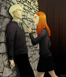 Draco Ginny - Tension by Irrel