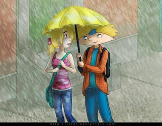 Hey Arnold - Umbrella by Irrel