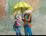 Hey Arnold - Umbrella by Irrel