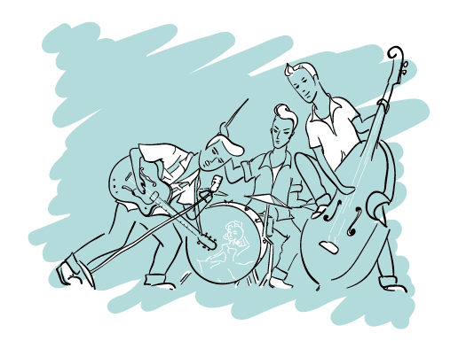 rockabilly band by LaFoi