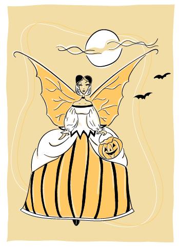halloween fairy by LaFoi