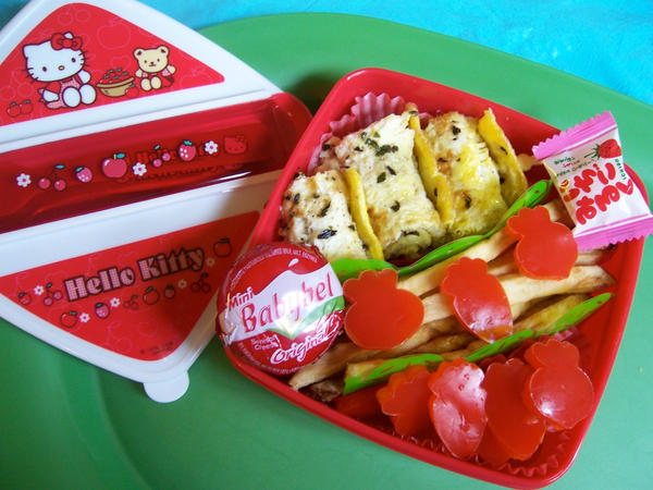 Strawberryish Bento by LaFoi