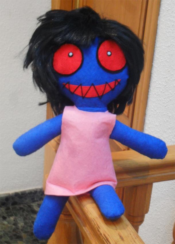 Ib's disturbing doll by BlackLadySango