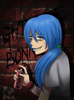 Nightmare Bonnie (FNAFHS AU, READ DESCRIPTION)