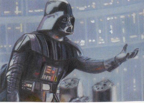 Star Wars Darth Vader Sketch Card