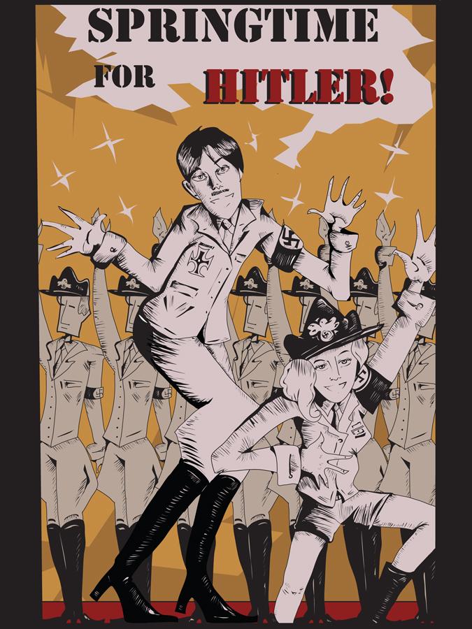 Springtime for Hitler by professorhojo