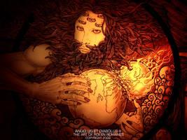 'God' by rolenromanes