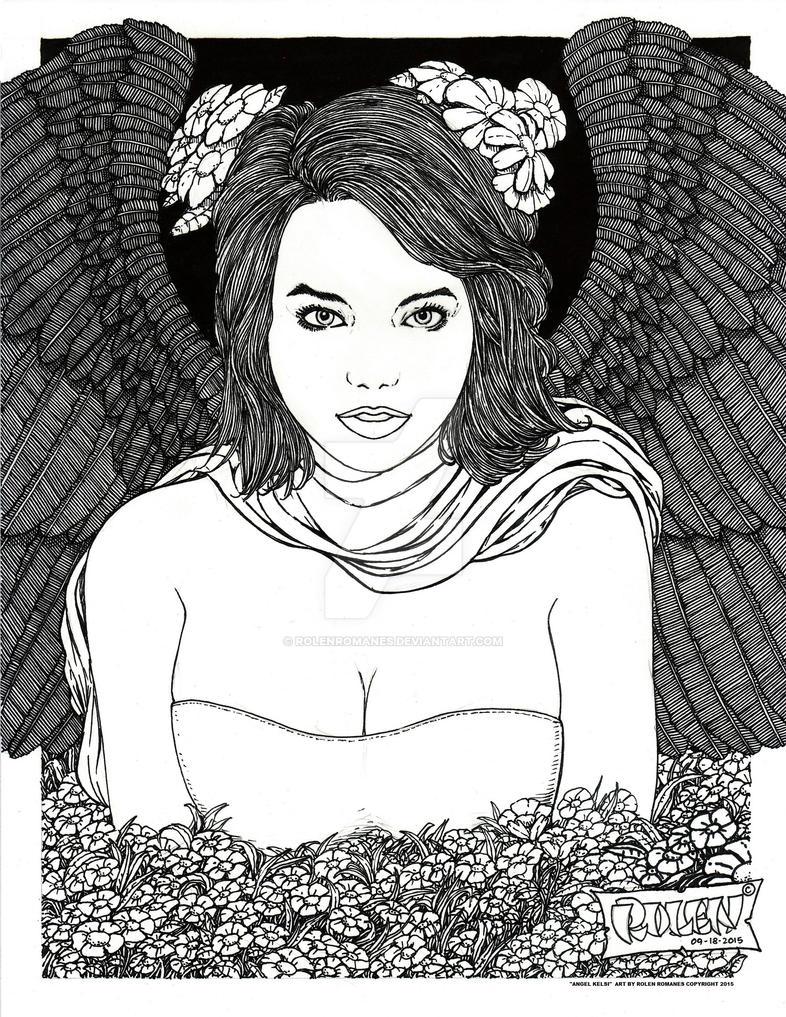 Angel Kelsi by rolenromanes