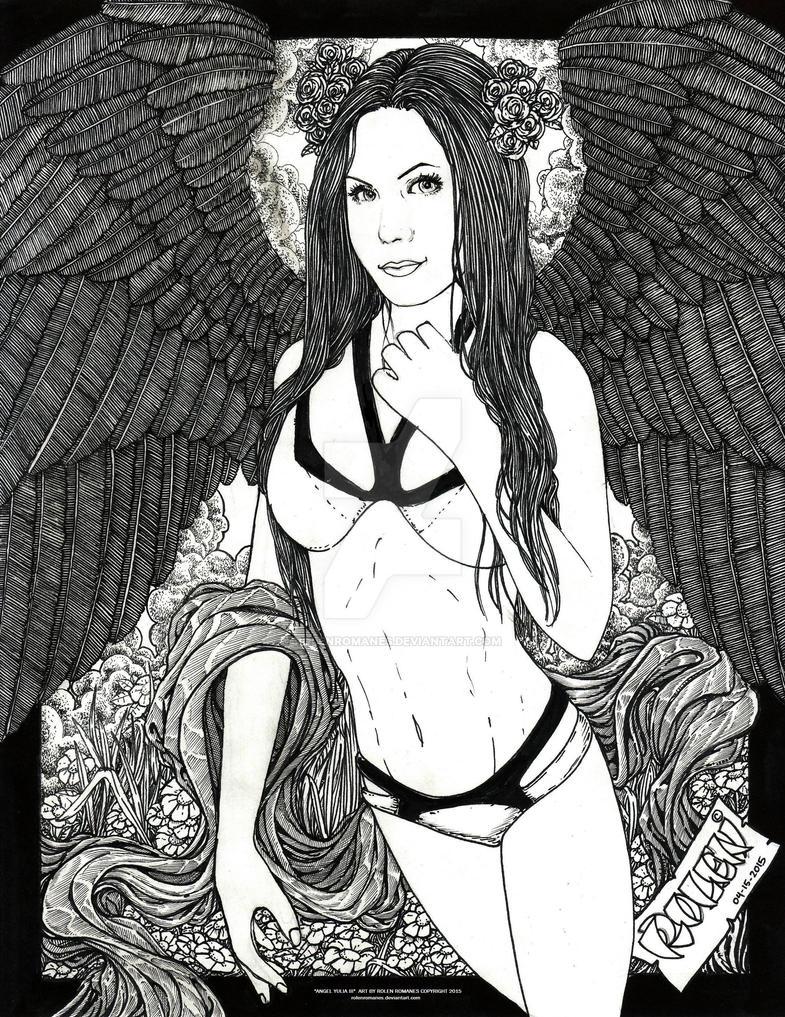 Angel Yulia III by rolenromanes