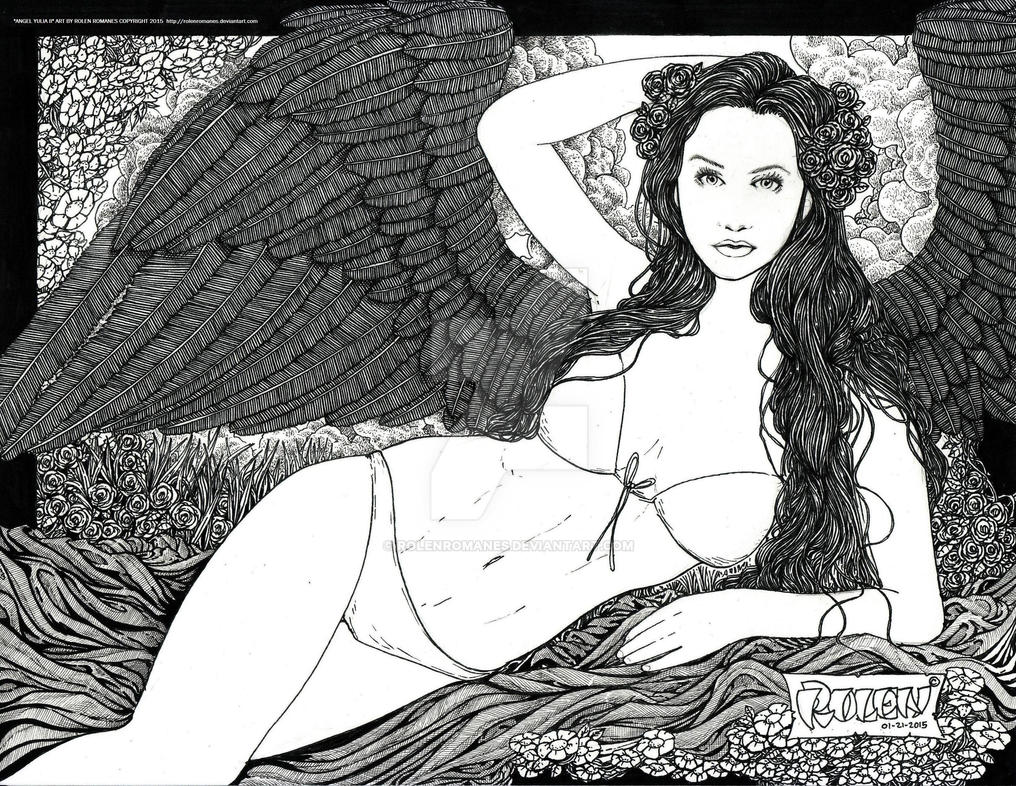 Angel Yulia II by rolenromanes