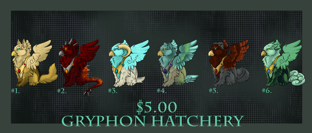Gryphon Hatchery by ElysianImagery