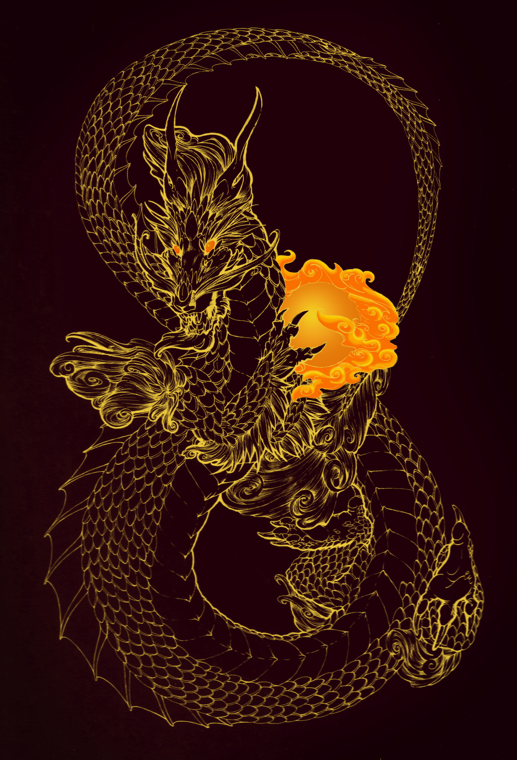 Year of the Dragon 2012 by ElysianImagery