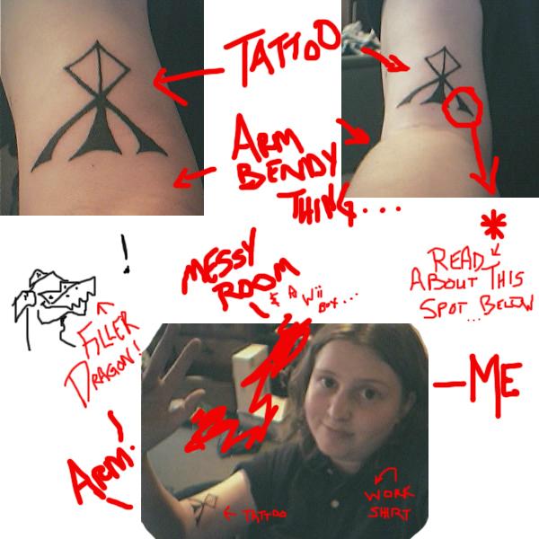 My First Tattoo...
