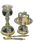 Orthodox Chalice and Bread Holder