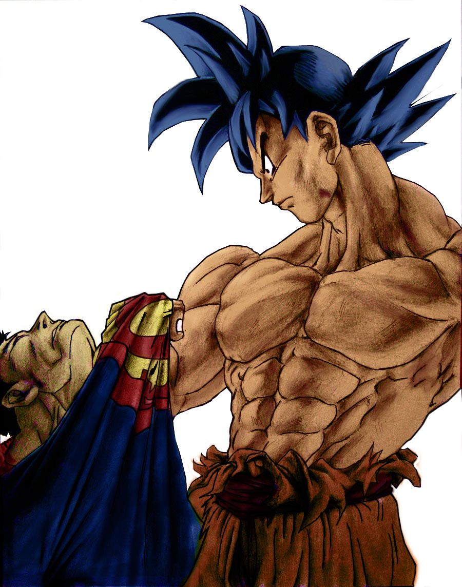 Goku Vs Superman - The Epic Battle The_Epic_Battle_by_Bimago