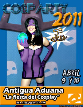 COSPARTY 2011 - AFICHE 4