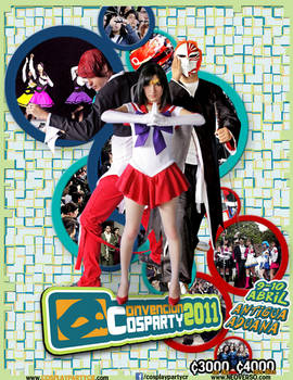 COSPARTY 2011 - Afiche final