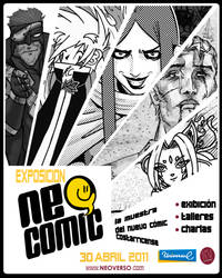 Exposicion Neo Comic by Bimago