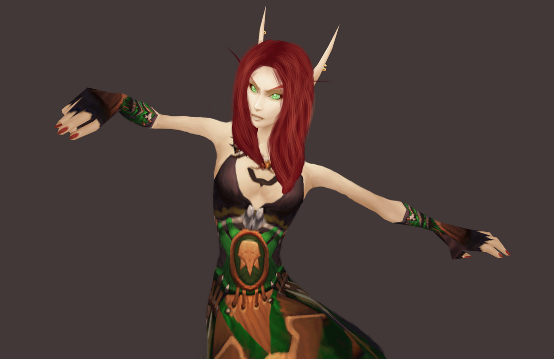 Blood elf monk xxx clip