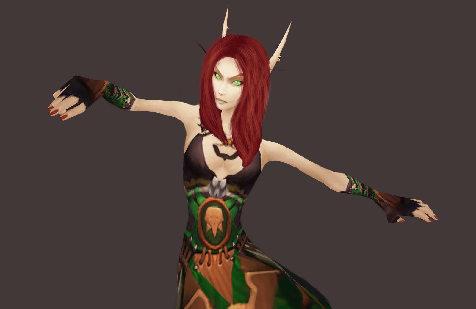 Female blood elf night elf worgen and  xxx tube