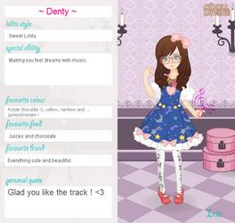 Lolita Denty - your favorite musician ! by Dentelle127